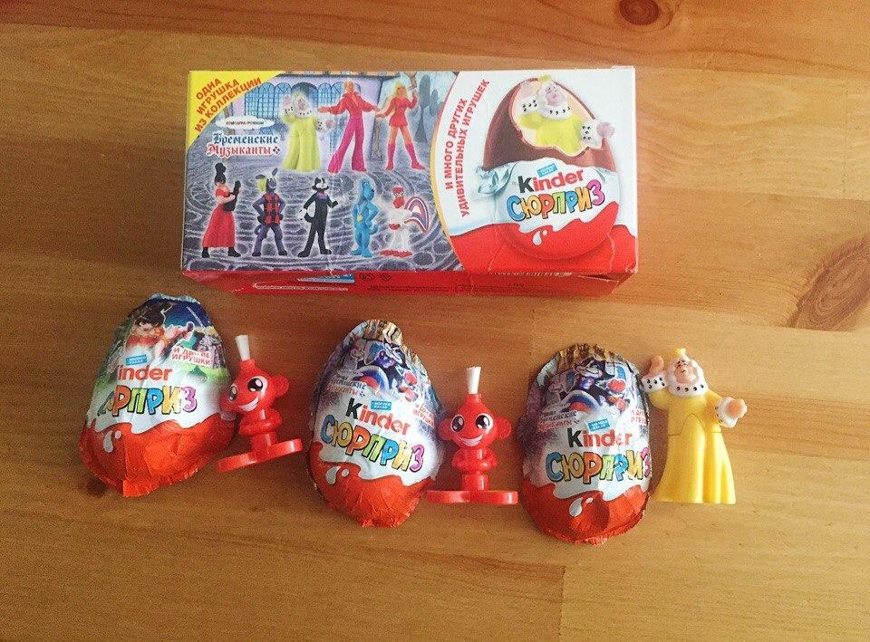 b94b838ee2014 Много других удивительных игрушек от Kinder