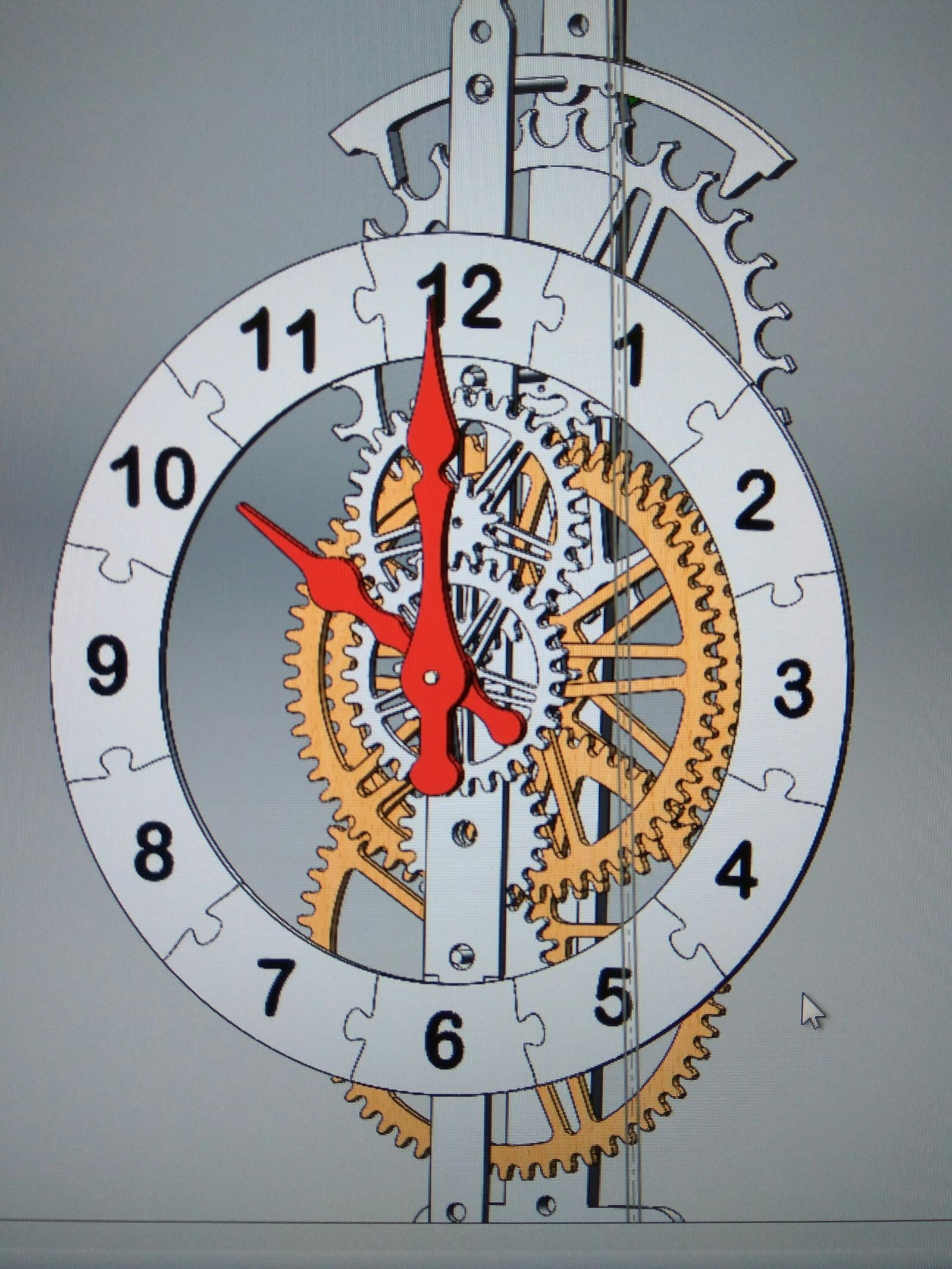 Часы из дерева своими руками чертежи фото 452