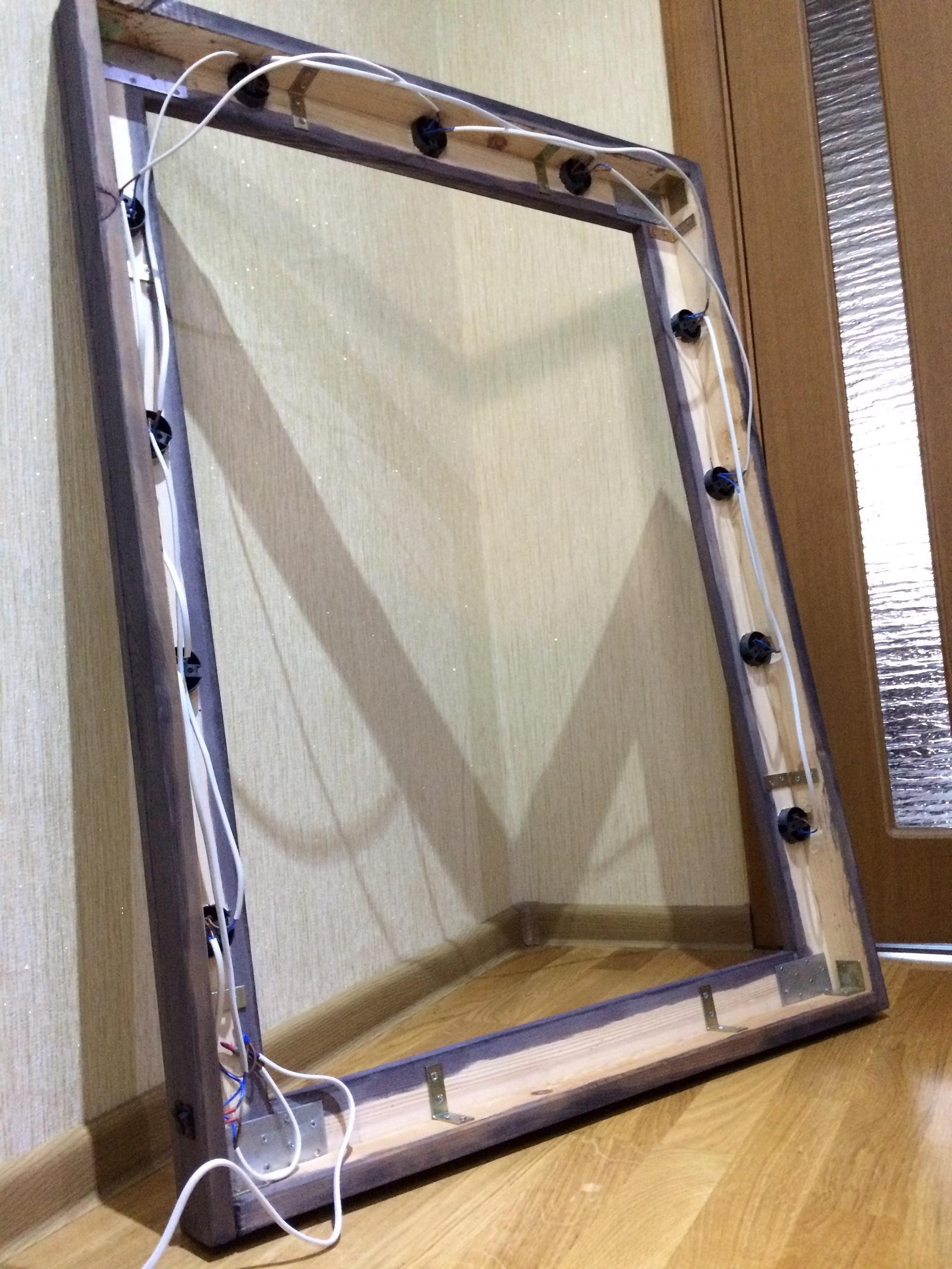 Как сделать гримерное зеркало своими руками фото 972