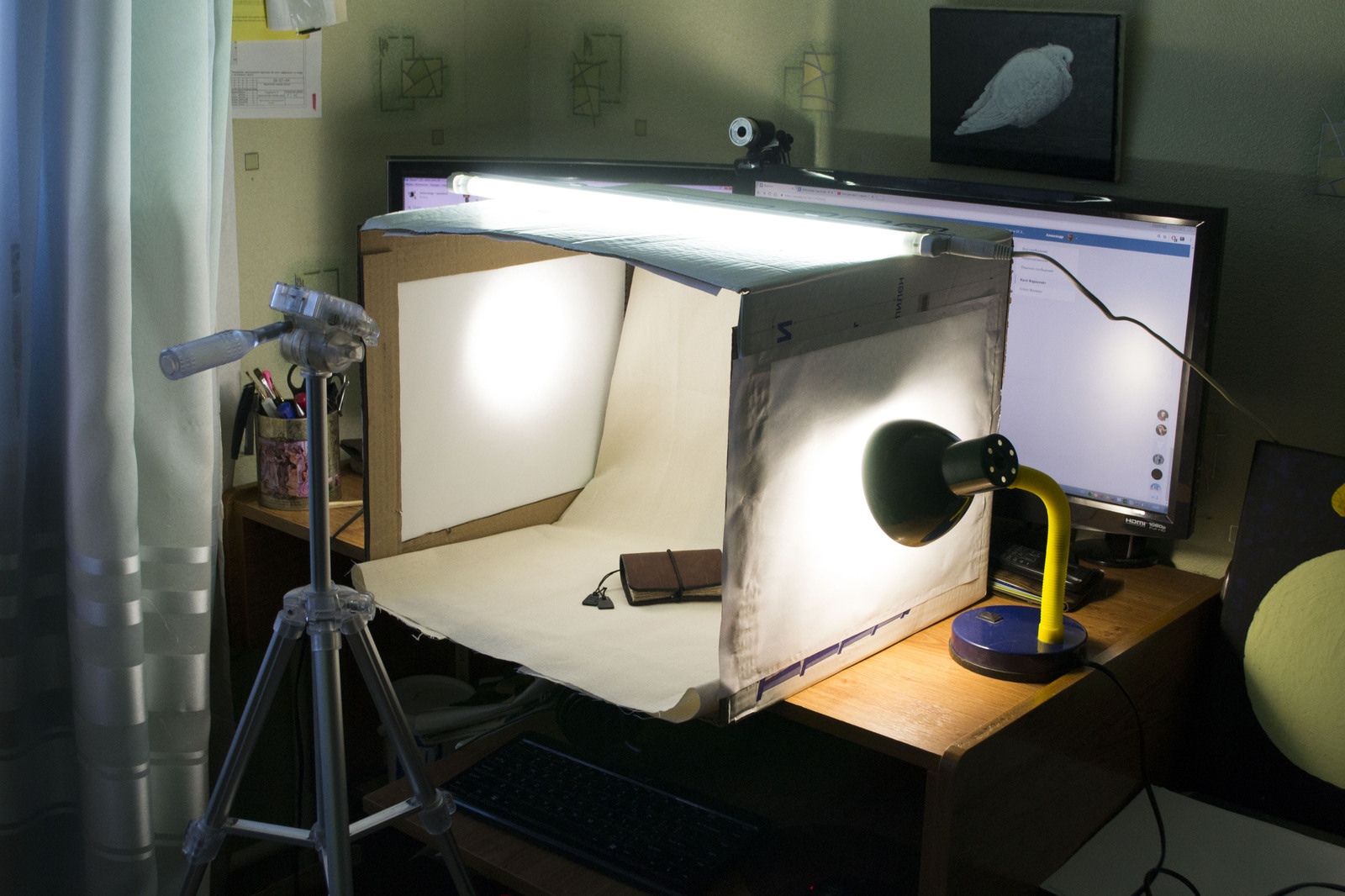 Стол для предметной съёмки своими руками 7