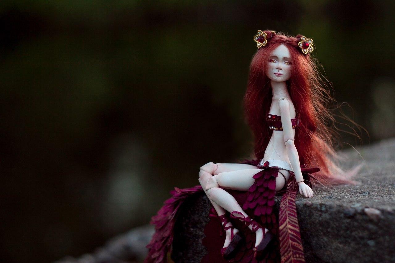 Как сделать шарнирную куклу своими руками (мастер-класс)