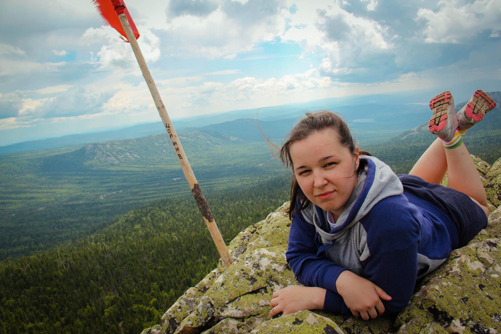 Русские девчонки в горах