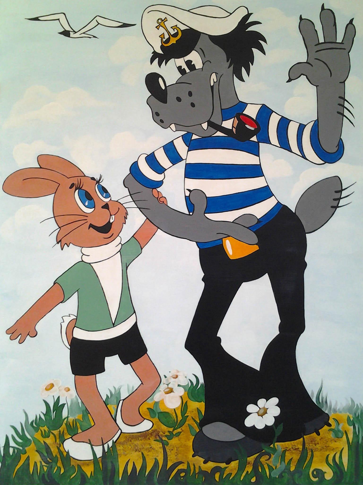 фото волк и заяц ну погоди