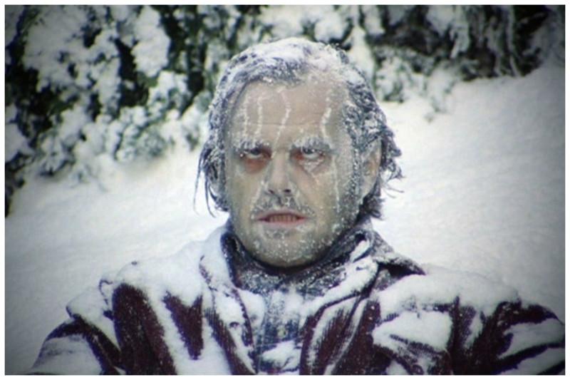 Держать член в холоде