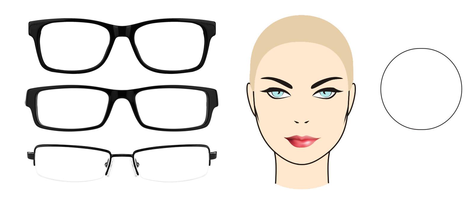 Как выбрать очки по форме лица Очки 684947f739afc