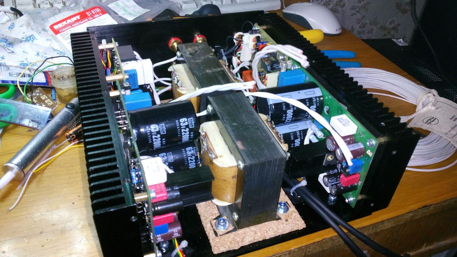 Схема защиты акустической системы фото 946