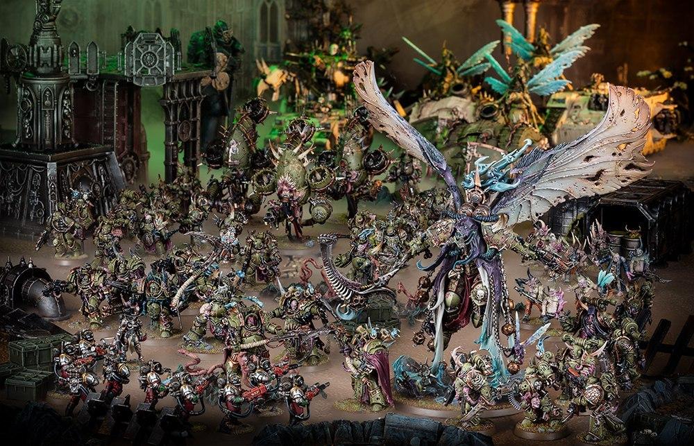 Картинки по запросу warhammer 40000 death guard