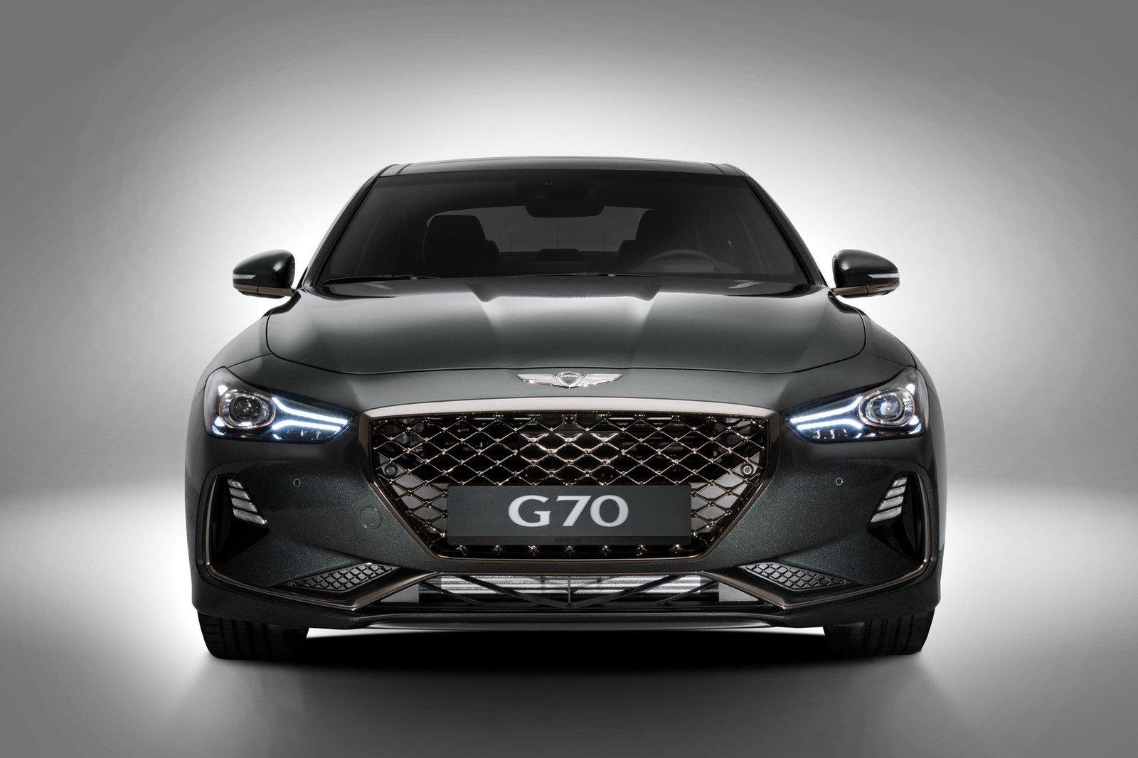 у корейцев появился конкурент 3 Series и C Class Genesis G70