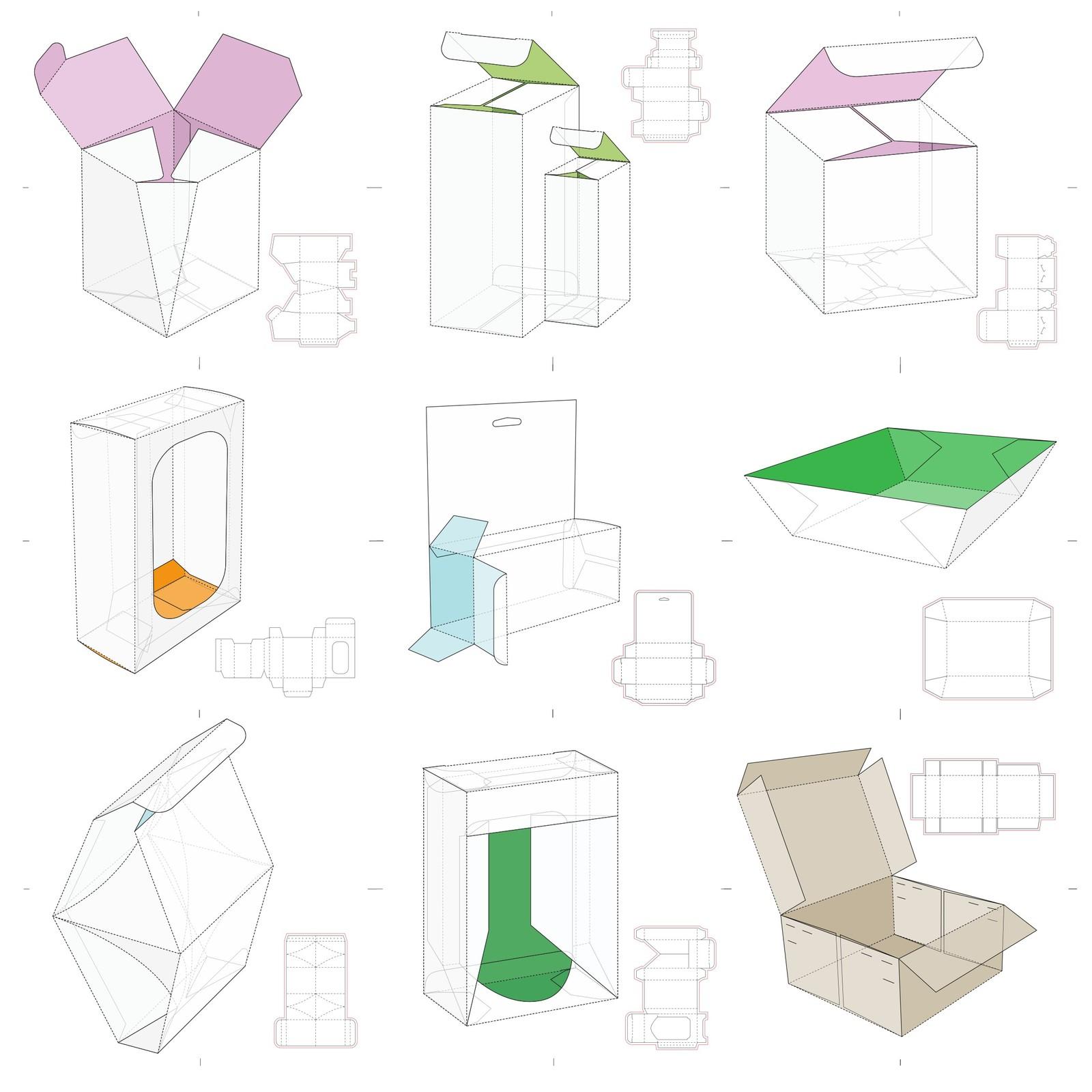 Шаблоны коробок своими руками фото 465
