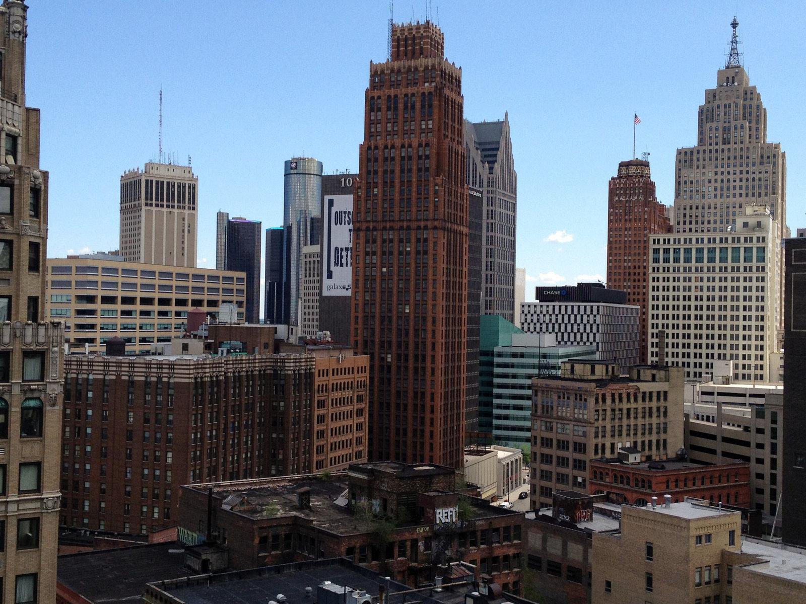 Обои дома, филадельфия, сша, небоскребы, утро. Города foto 11