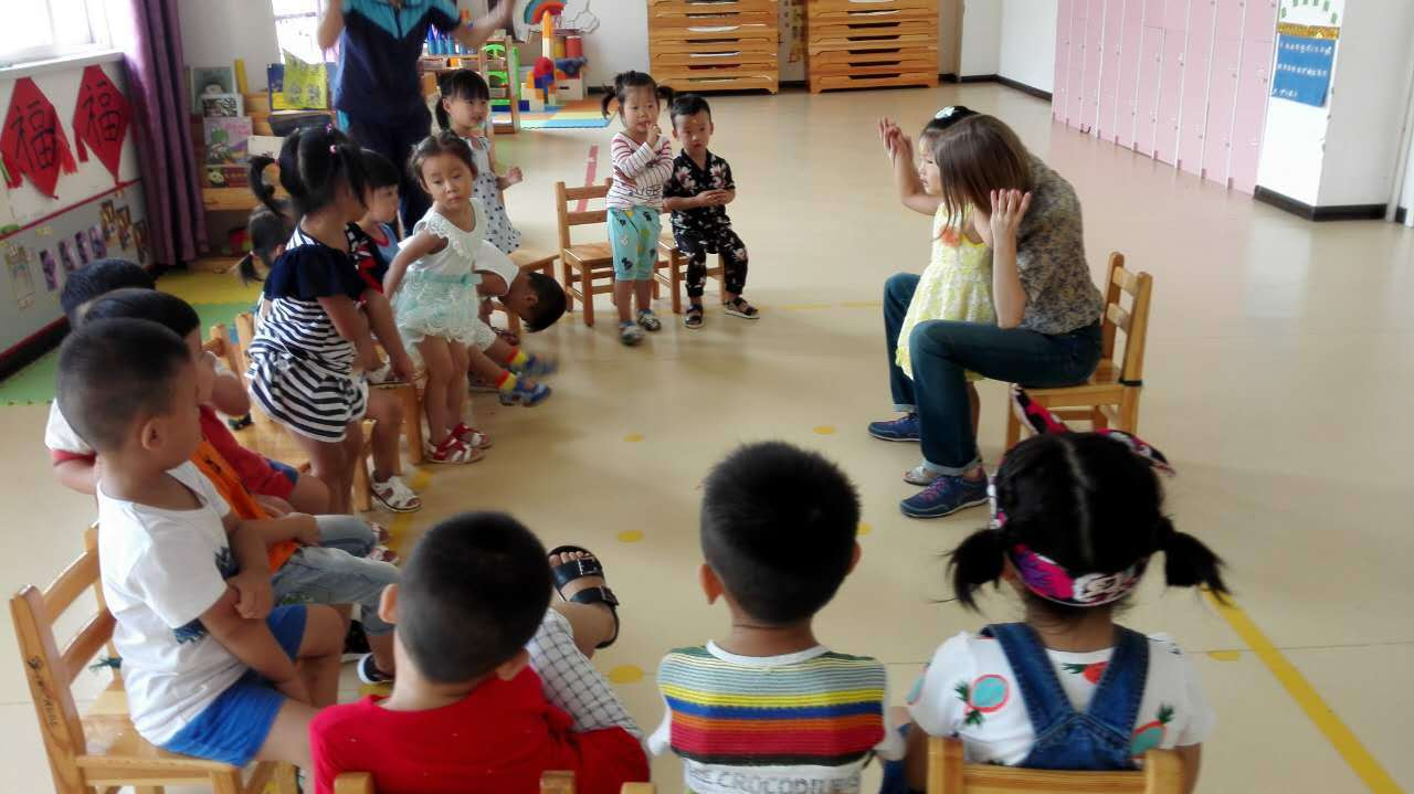 учитель английского в Китае