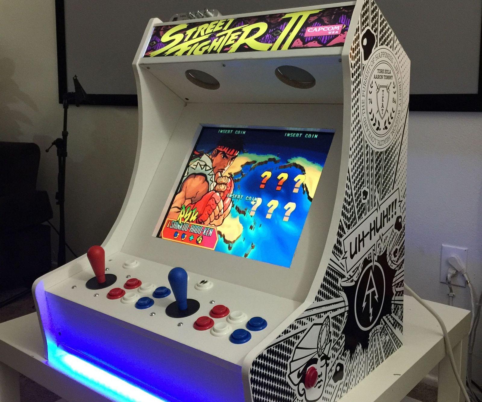 как сделать аркадный игровой автомат