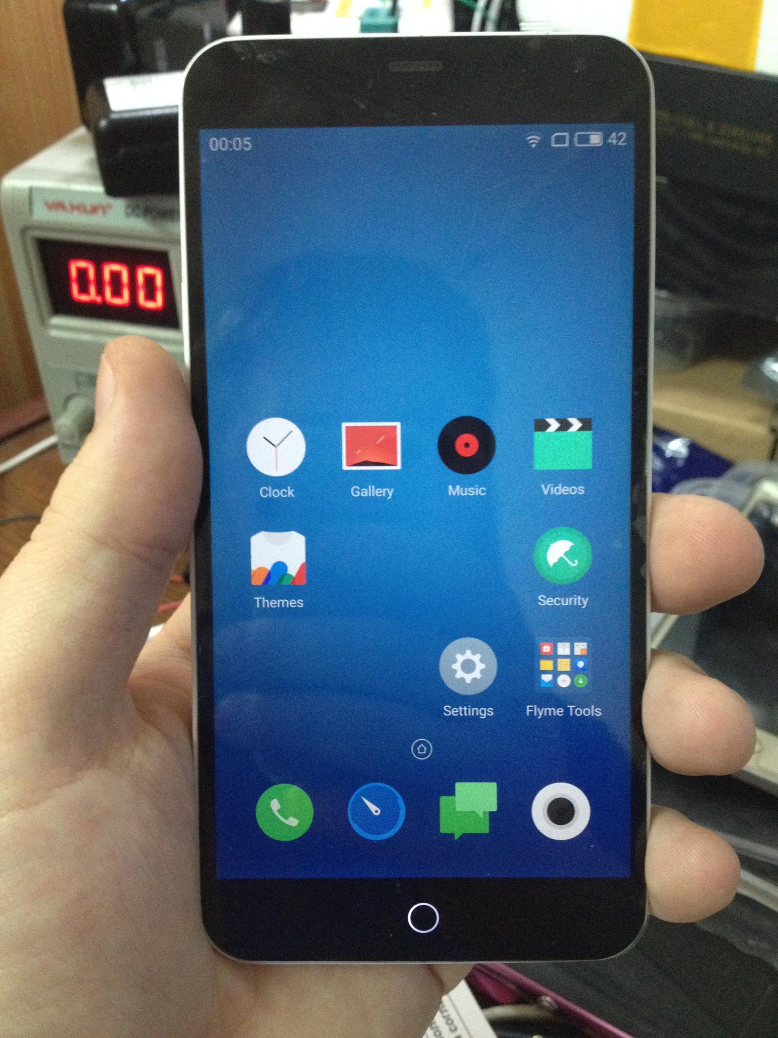 Удаляем пароль на телефоне Meizu M1 Note