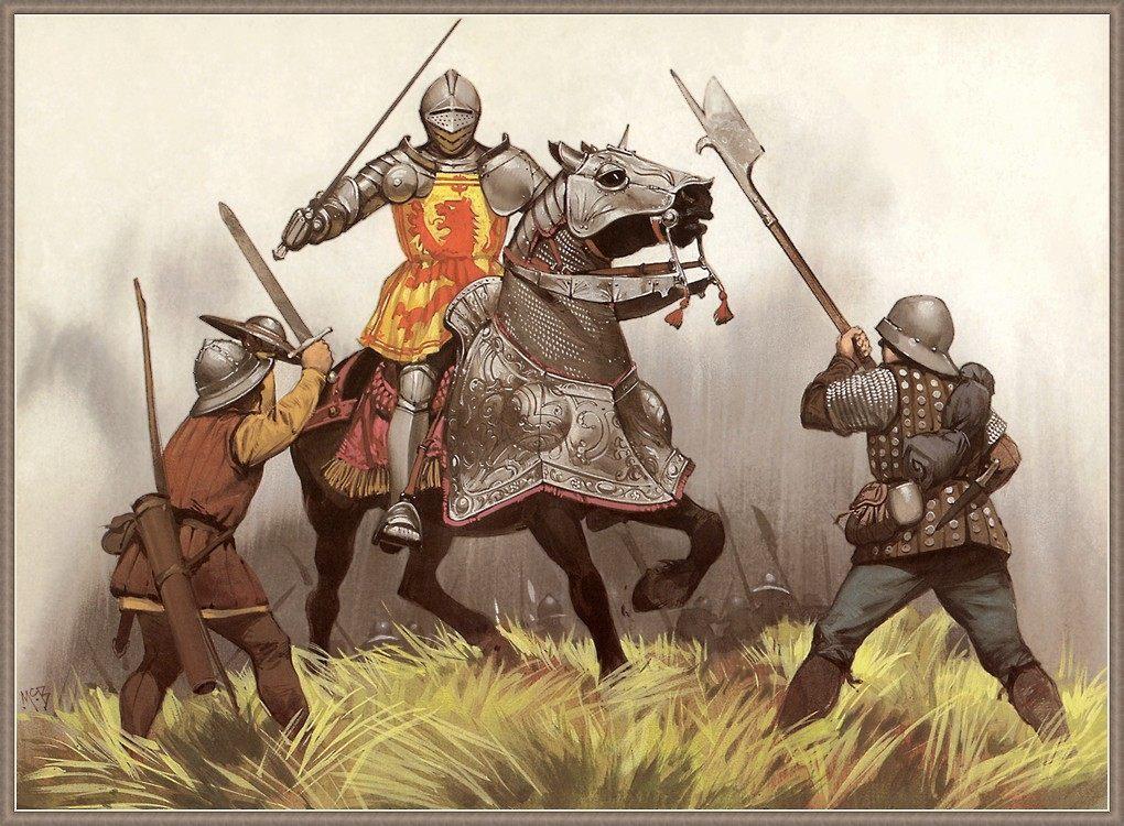 Убийца рыцарей и страшный сон кавалерии – алебарда