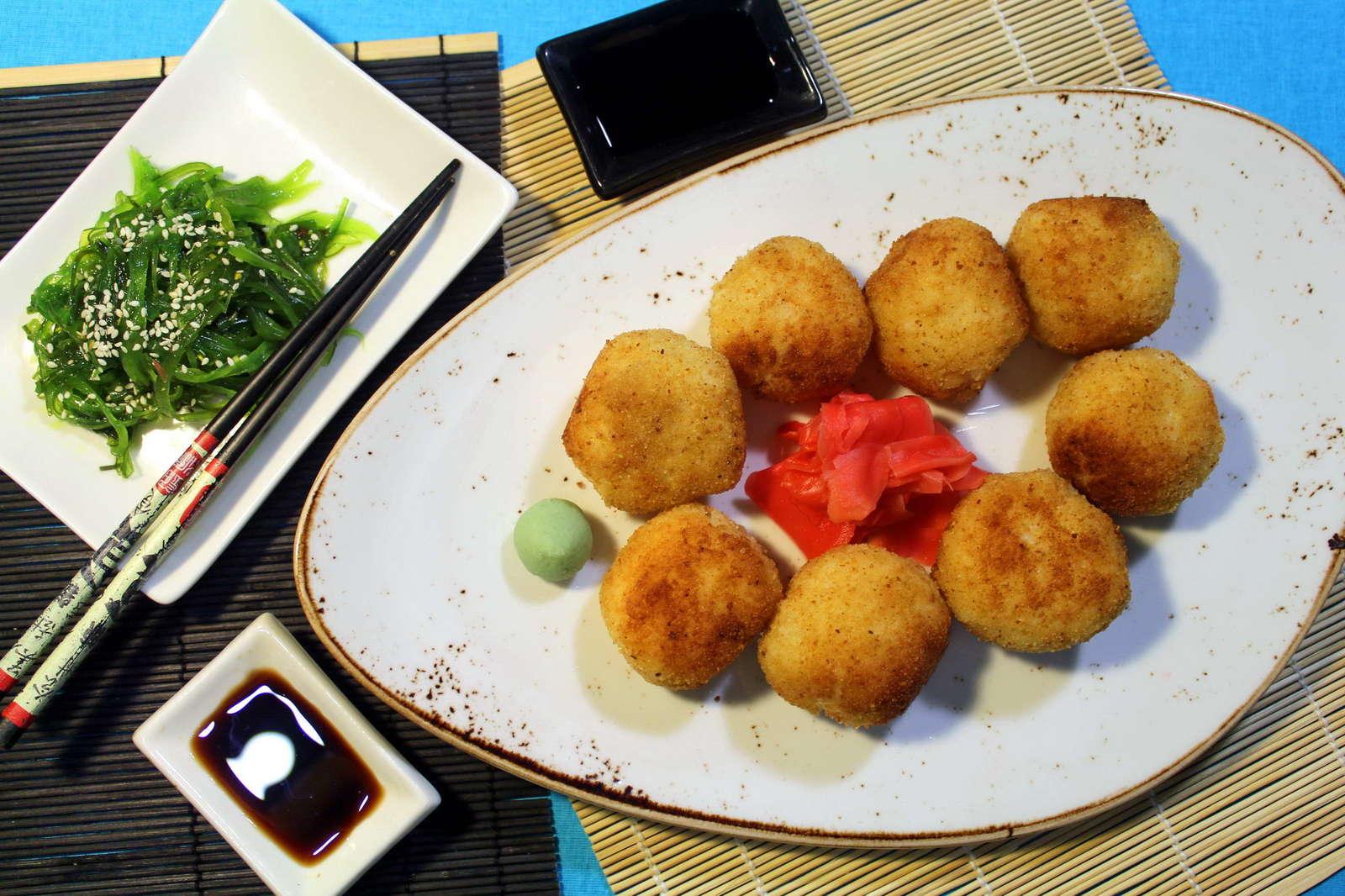 сырные шарики с рисом