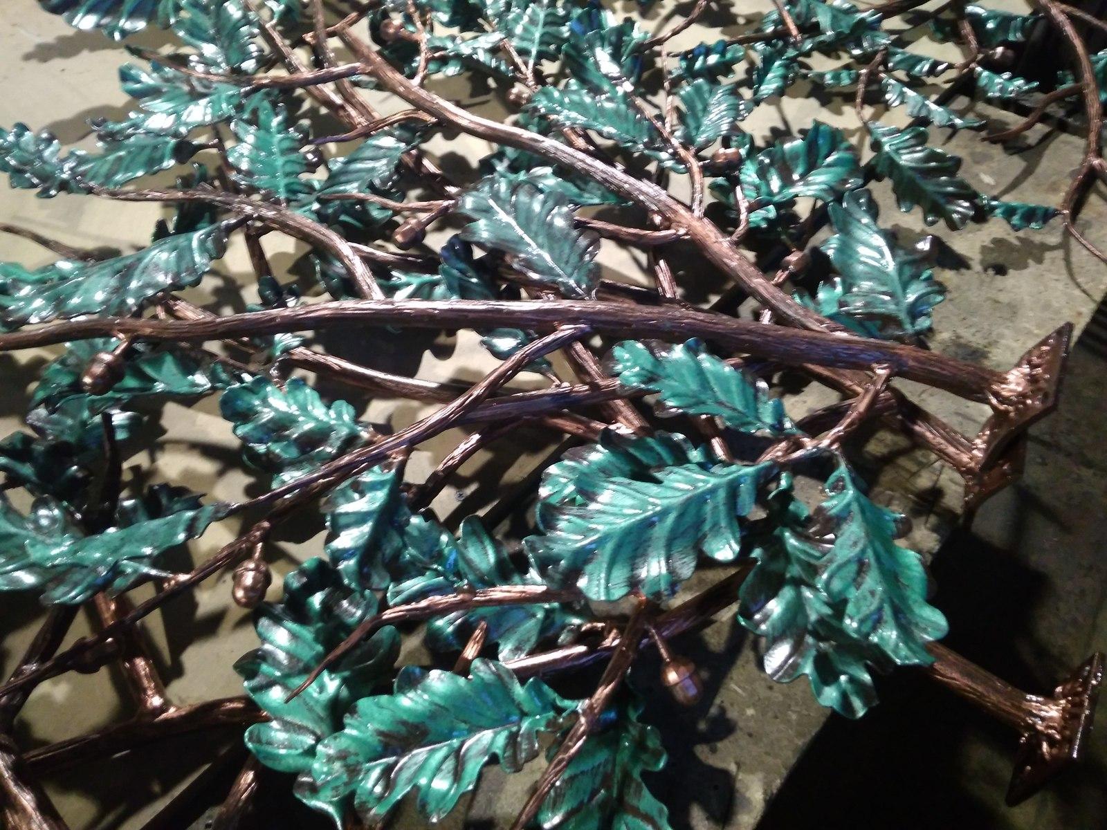 Листья из металла своими руками фото 622