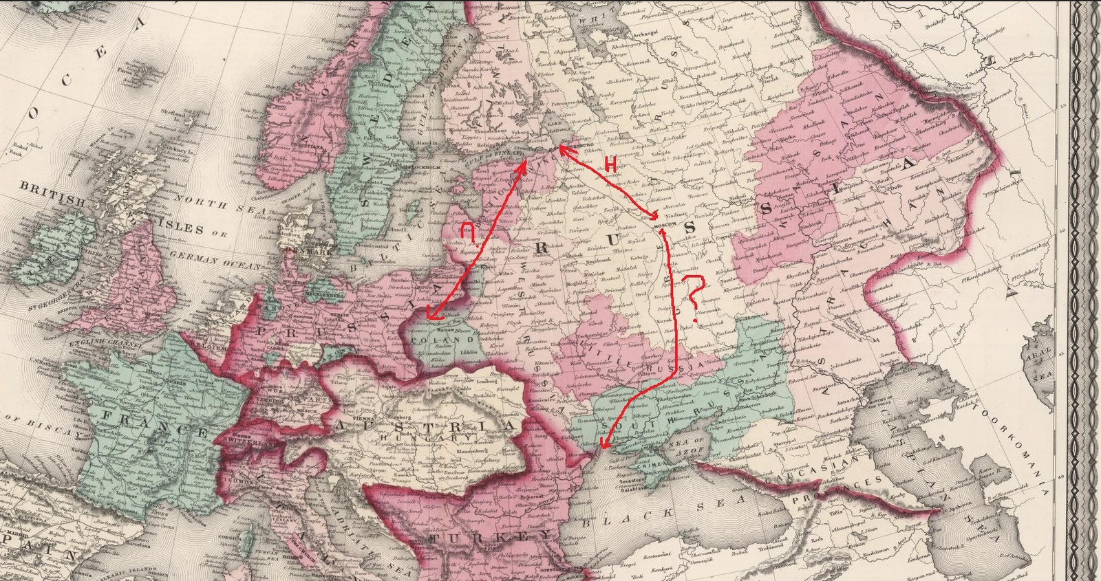 Железные дороги в 1772 году Карты, История, Железная Дорога, Теория  заговора, Катастрофа