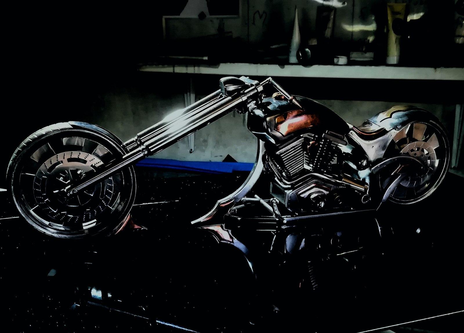 Сувенирный мотоцикл мотоцикл, сувенир