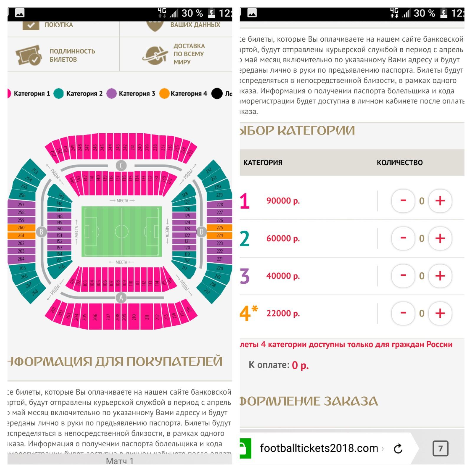 билеты на финал чм по футболу 2014 цена