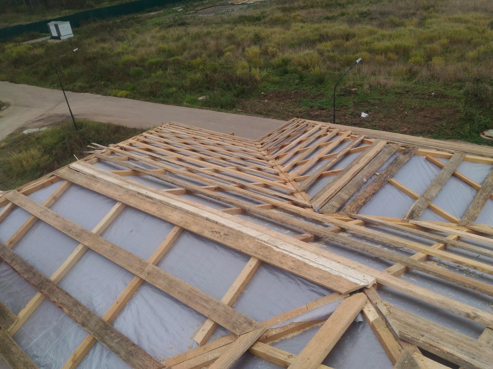 Возведение крыши своими руками фото 241