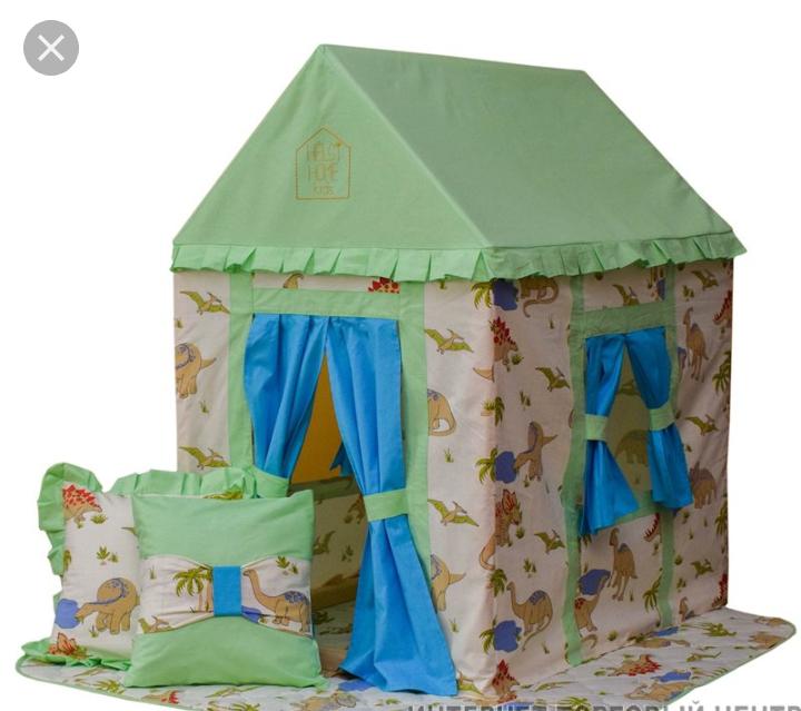 Игровой домик для детей своими руками