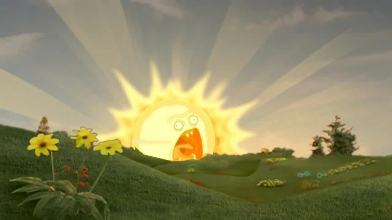 солнышко из телепузиков фото