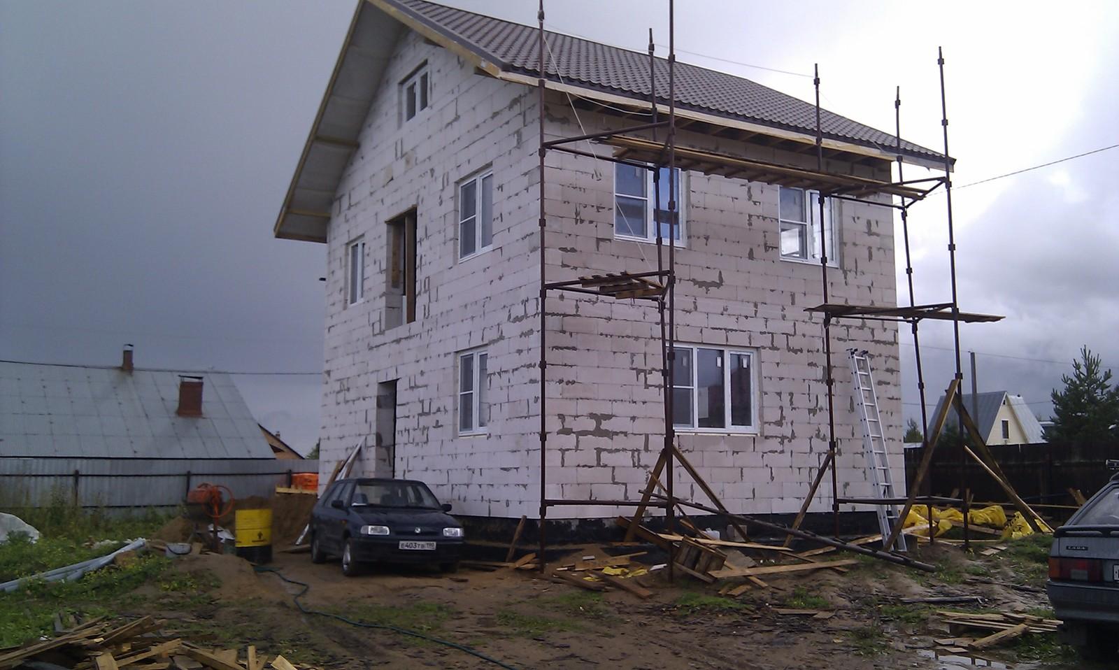 Как построить дом своими руками. Часть 1