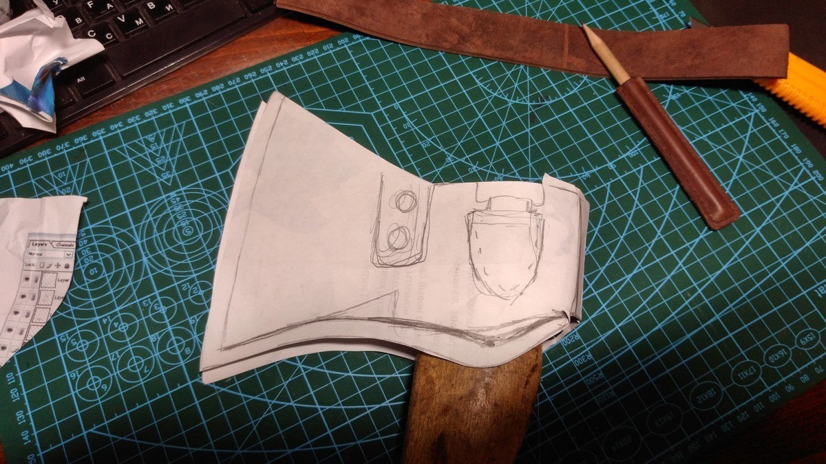Чехол для топора своими руками из брезента фото 657