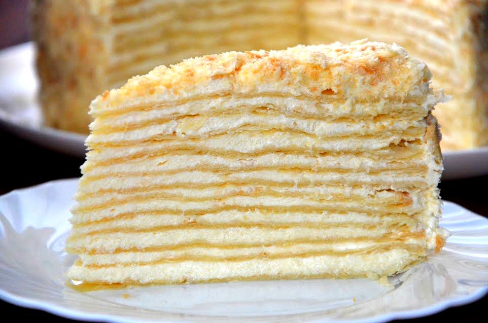 торт наполеон рецепт классический видео