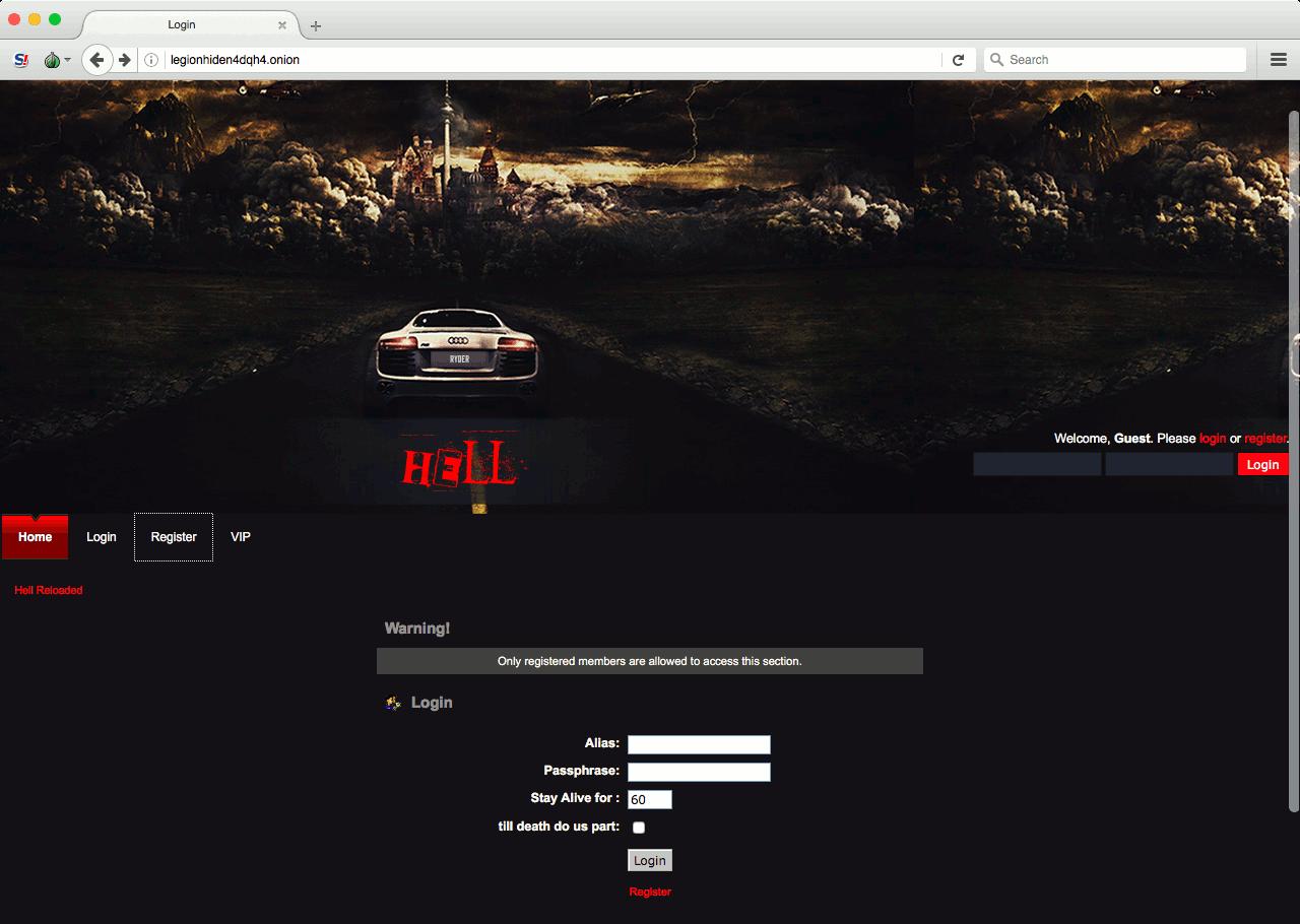 darknet сайты