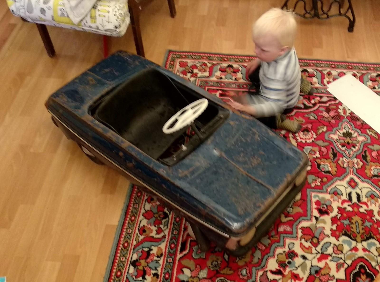Реставрация педального