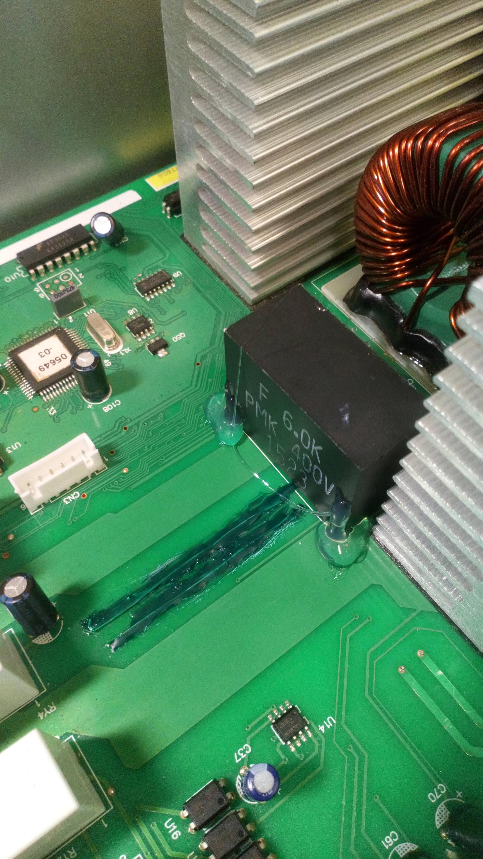 Схемы крановых резисторов
