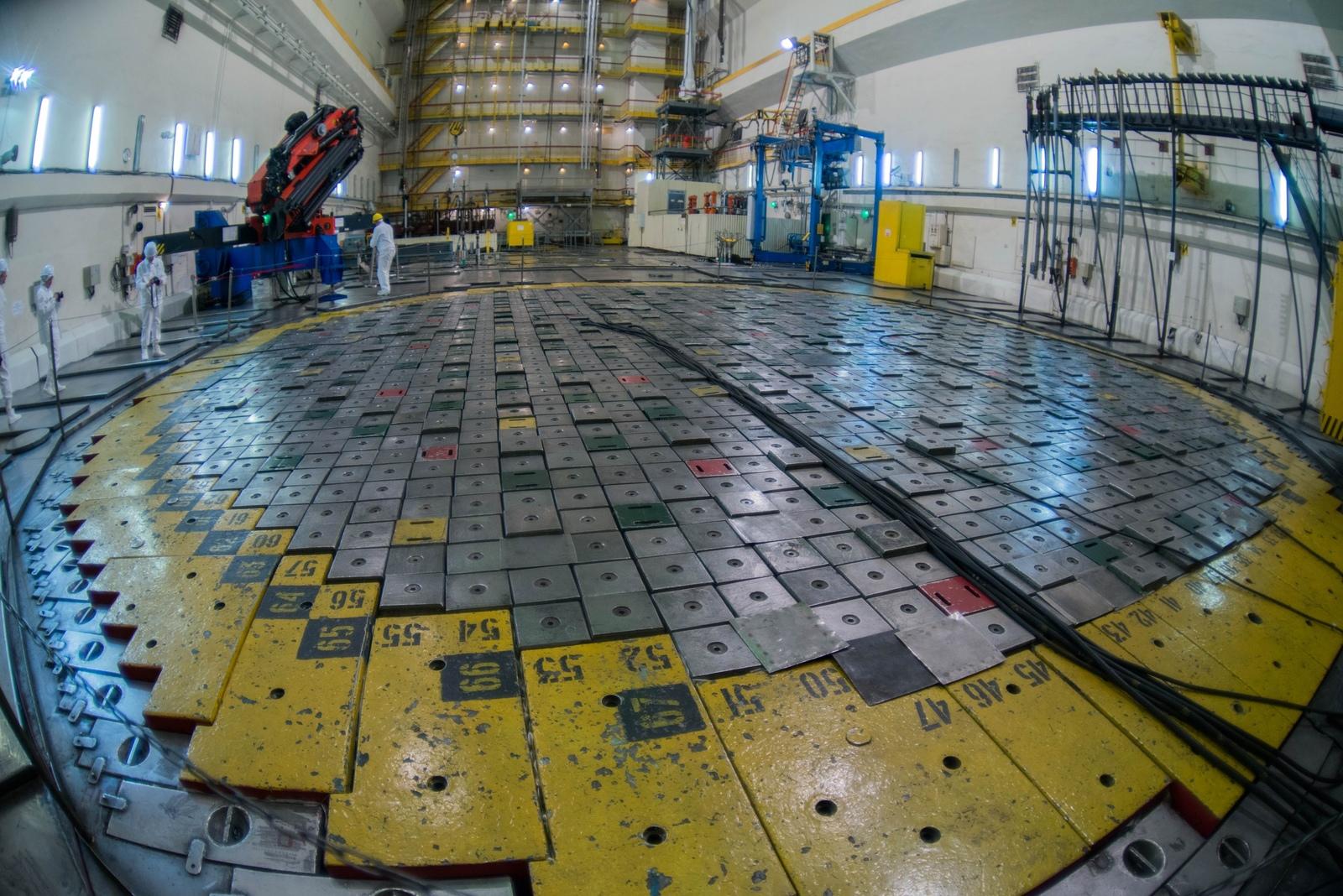 На реактор ЛАЭС-2 надели гигантский защитный купол // НТВ.Ru | 1068x1600