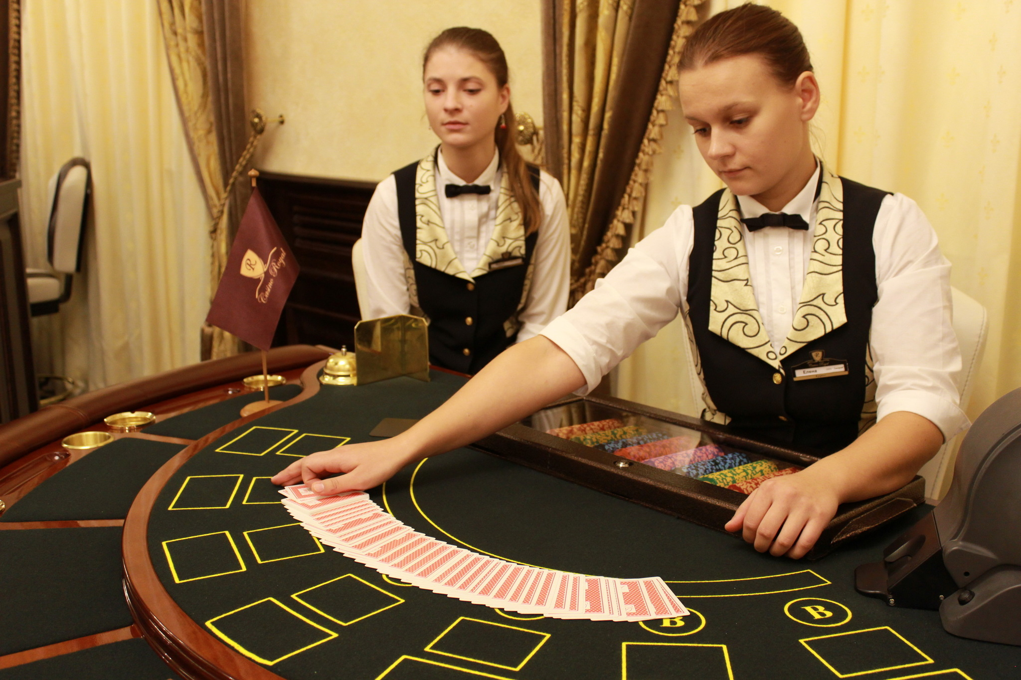 проигрыш в казино это