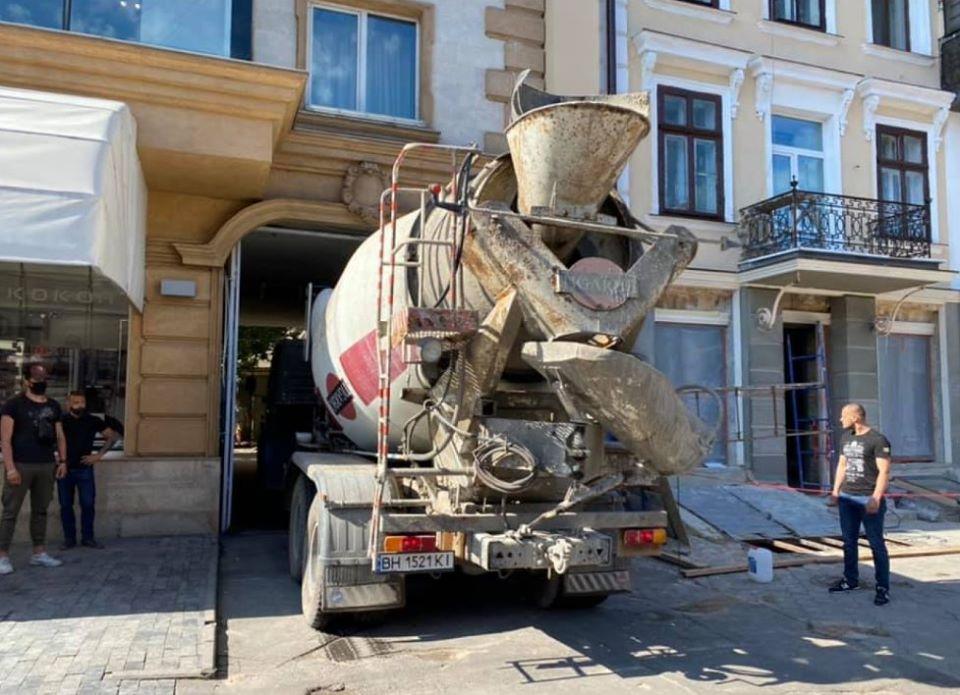 Людей залили бетоном купить бетон верхняя пышма цена