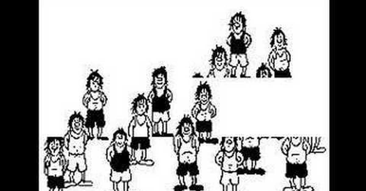 Картинка с футболистами иллюзия распечатать