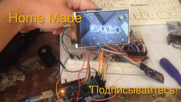 Access SD Cards from TFT LCD Shield Using Arduino